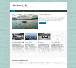 Oban Rowing Club website